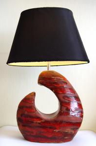 Lampa wyrób z gliny